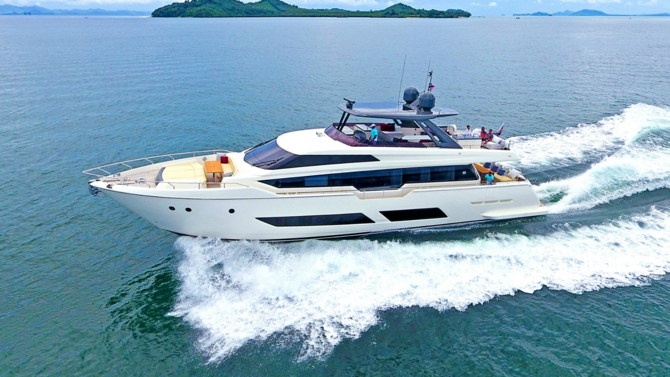 timeless design a4b25 ff37c Ferretti 850 for sale in Thailand for £3,850,000