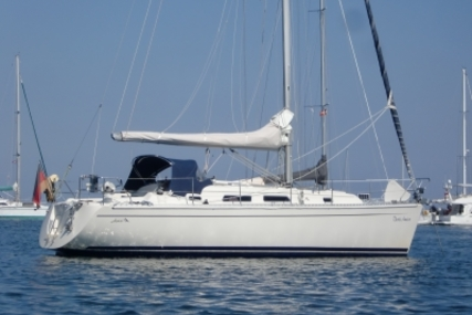 Hanse 341 for sale in Germany for €59,500 (£53,146)