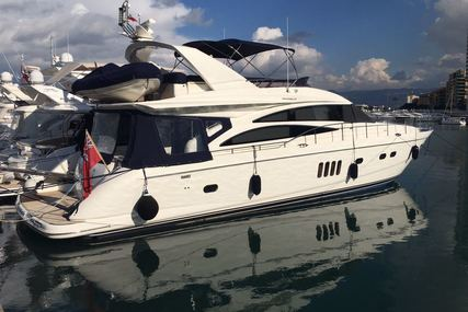 Princess 67 for sale in France for €550,000 (£482,981)