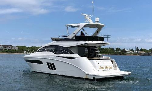 Image of Sea Ray 510 Fly for sale in United States of America for $859,000 (£680,822) Montauk, NY, United States of America