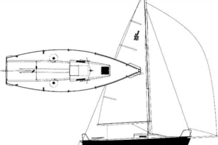 J Boats J 80 for sale in Ireland for €20,500 (£18,153)