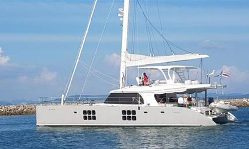 Image of Sunreef 60 Sailing for sale in Thailand for €1,490,000 (£1,332,809) Phuket, , Thailand