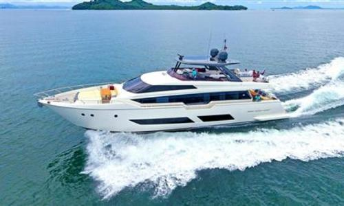 Image of Ferretti 850 for sale in Thailand for €3,650,000 (£3,228,117) Phuket, , Thailand