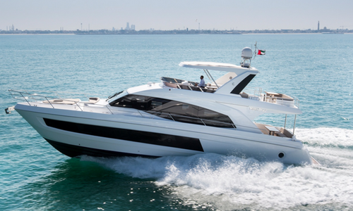 Image of Majesty 62 fly for sale in Spain for $1,467,200 (£1,194,934) Spain