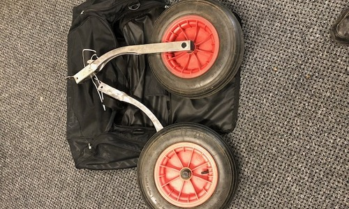 Image of Launching wheels 2.4/4.3 for sale in United Kingdom for £60 North East, United Kingdom