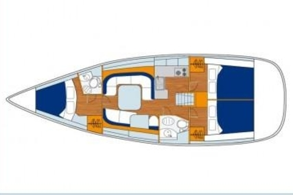 Jeanneau Sun Odyssey 42i for sale in Greece for €79,000 (£70,563)