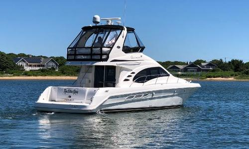 Image of Sea Ray 420 Sedan Bridge for sale in United States of America for $289,000 (£222,376) Shelter Island, NY, United States of America