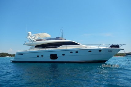 Ferretti 630 for sale in France for €695,000 (£608,795)