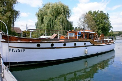 James Silver to a John Bain design Dunkirk Little Ship for sale in France for £125,000 ($165,989)