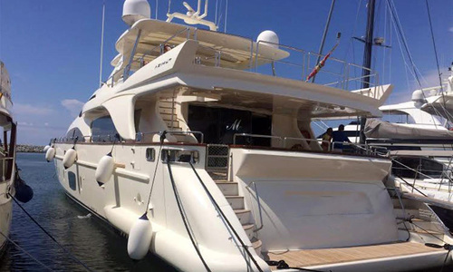 Image of Azimut Yachts 105 for sale in Spain for €2,700,000 (£2,411,446) Spain
