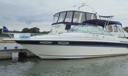Image of Sea Ray 250 Weekender for sale in United Kingdom for £19,950 Hamble River Boat Yard, United Kingdom