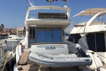 Prestige 500 for sale in France for €890,000 (£803,003)