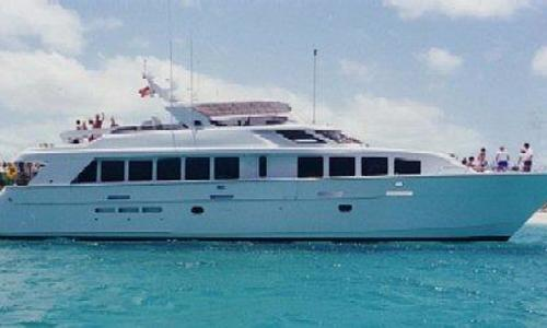 Image of Hatteras 92 Elite for sale in Croatia for $2,395,000 (£1,731,304) Croatia