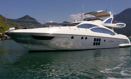 Image of Azimut Yachts 72S for sale in Brazil for $2,150,000 (£1,633,788) Brazil