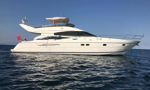 Image of Princess 61 for sale in Spain for €360,000 (£322,459) Spain