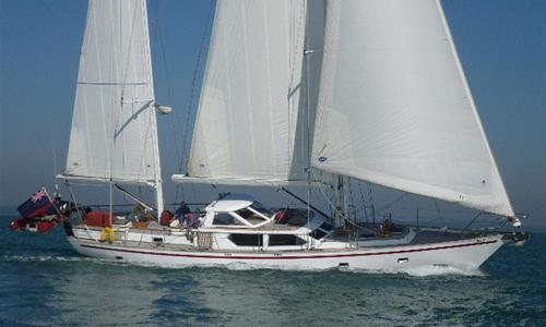 Image of Dixon 62 - Ketch Rig Steel Yacht for sale in United Kingdom for £650,000 Lymington, Hampshire, , United Kingdom
