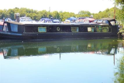 Wide Beam Narrowboat Hanbury Monarch 60 x 12 for sale in United Kingdom for £99,950
