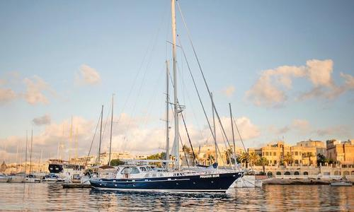 Image of Cavalier 92 Steel Motorsailor for sale in Spain for €1,170,000 (£1,041,704) Spain
