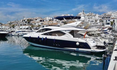 Image of Sunseeker Manhattan 60 for sale in Spain for €780,000 (£700,387) Costa del Sol, , Spain