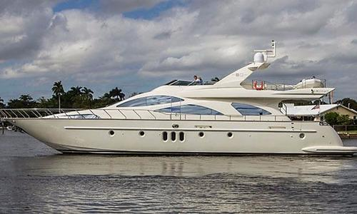 Image of Azimut Yachts 80 for sale in Turkey for €1,900,000 (£1,694,613) Turkey