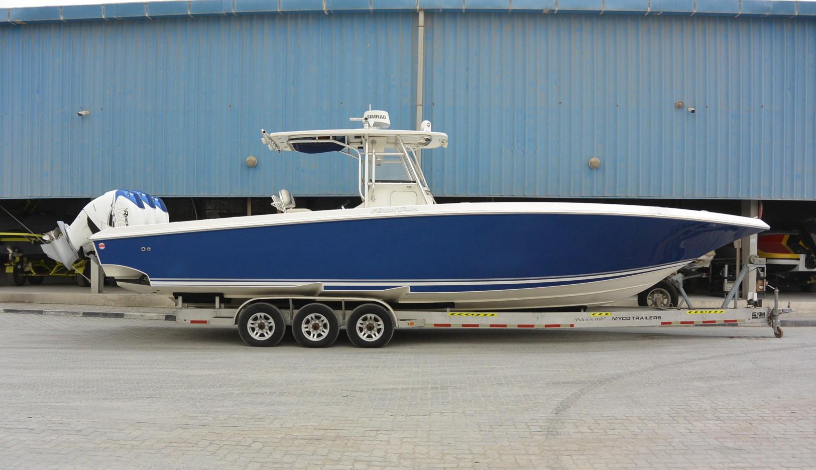 Fountain Boats For Sale >> Fountain 38 Cc Motor Yacht For Sale In United Arab Emirates For