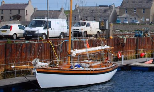 Image of Classic Alan Pape Gaff Cutter for sale in United Kingdom for £125,000 Southampton, Hampshire, , United Kingdom