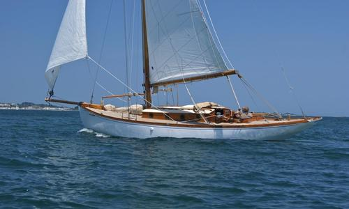 Image of Classic Dallimore Bermudan Cutter for sale in Guernsey and Alderney for £65,000 Guernsey and Alderney