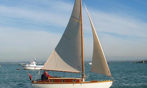 Image of Traditional Silvers Bermudan Sloop for sale in United Kingdom for £7,000 Southampton, Hampshire, , United Kingdom