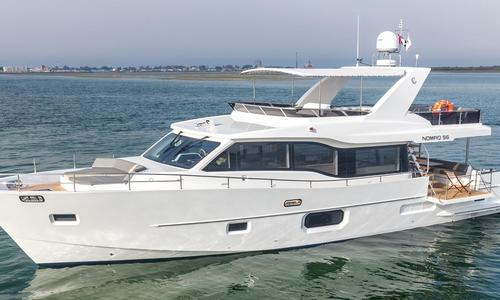 Image of Gulf Craft Nomad 55 Motor Yacht for sale in United Arab Emirates for $815,500 (£641,363) United Arab Emirates