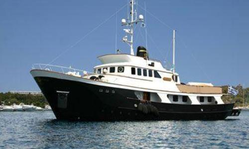 Image of Kristiansands Mek Verksted A.S. 34m EXPLORER for sale in Greece for €1,200,000 (£1,071,850) Greece