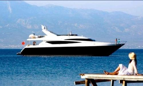 Image of Princess 95 for sale in Germany for €3,100,000 (£2,682,287) Informationen BCM-Yachtsales, , Germany