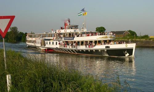 Image of Sachsenberg Paddle Steamer for sale in Netherlands for $3,495,000 (£2,751,752) Rotterdam, , Netherlands