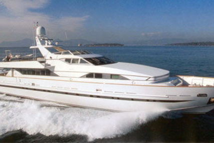 Baglietto 118 for sale in Greece for €975,000 (£860,684)