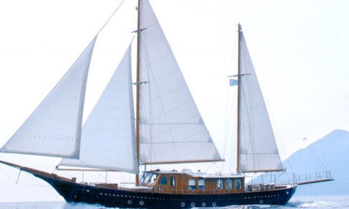Image of Greek Wooden Motor Sailer for sale in Greece for €1,500,000 (£1,326,624) Greece