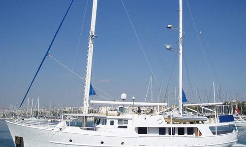 Image of Sutphen Steel Motor sailer for sale in Greece for €600,000 (£530,649) Greece