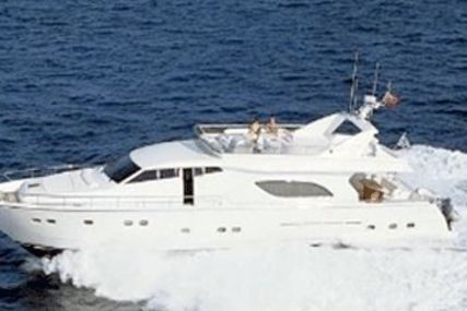 Ferretti 80 for sale in Greece for €950,000 (£837,425)