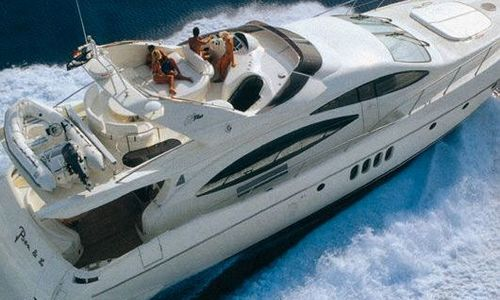 Image of Azimut Yachts 68 Plus for sale in Greece for €465,000 (£405,731) Greece