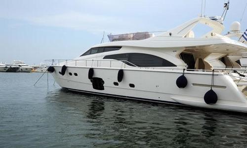 Image of Ferretti 681 for sale in Greece for €850,000 (£727,379) Greece