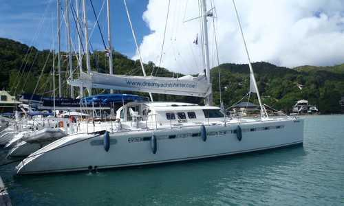 Image of Fountaine Pajot Marquise 56 for sale in Seychelles for €270,000 (£242,442) Seychelles