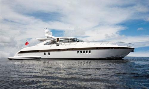 Image of Mangusta 80 SHT for sale in France for €749,000 (£672,231) France
