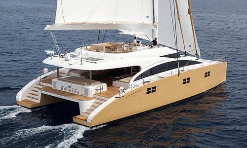 Image of Sunreef Yachts 82 Sailing for sale in Italy for €3,850,000 (£3,430,914) Italy