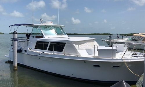 Image of Hatteras 41 Twin Cabin for sale in United States of America for $28,000 (£22,452) Islamorada, Florida, United States of America