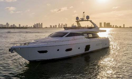 Image of Ferretti 720 Flybridge for sale in United States of America for $1,575,000 (£1,212,275) Miami River, FL, United States of America