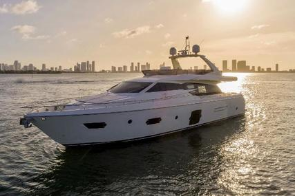 Ferretti 720 Flybridge for sale in United States of America for $1,475,000 (£1,143,420)
