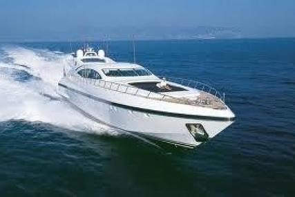 Mangusta Overmarine 108 for sale in Italy for $1,950,000 (£1,491,624)
