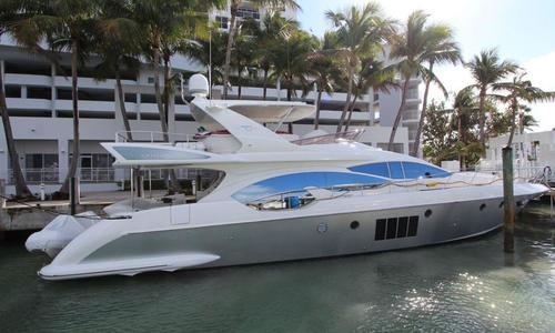 Image of Azimut Yachts FBMY for sale in United States of America for $1,790,000 (£1,363,436) Miami Beach, Florida, United States of America