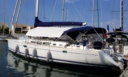 Image of Jeanneau Sun Odyssey 49 for sale in France for €169,000 (£148,331) LE CAP D'AGDE, France