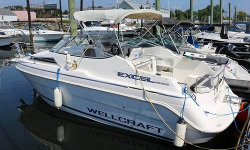 Image of Wellcraft Excel 23SE for sale in United States of America for $13,500 (£11,146) Bridgeport, Connecticut, United States of America