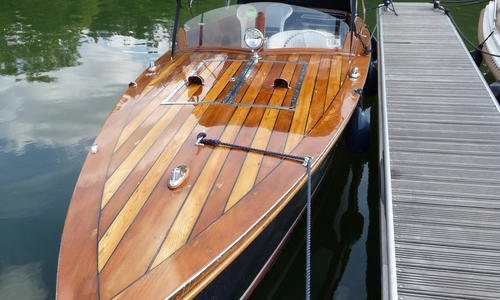 Image of Andrews 25ft Slipper Stern Launch for sale in United Kingdom for £29,950 Henley on Thames, United Kingdom