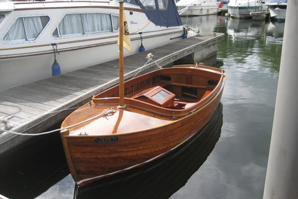 Tideway by Walker of Leigh on Sea motorised wooden dinghy for sale in United Kingdom for £6,950